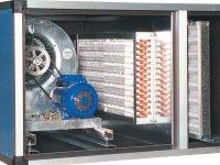 UTA trifase batteria acqua calda