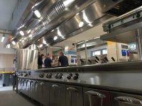 soffitto aspirante cucina industriale