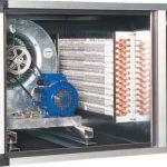 UTA trifase batteria acqua calda impianti