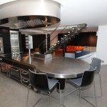 cappa aspirazione design ovale scuola cucina 2