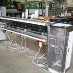 apparati per distribuzione energia e fluidi per cucine professionali
