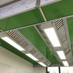 soffitto aspirante centri cottura 2-Break&Lunch