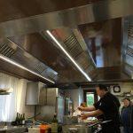 soffitto aspirante cucina ristorante - Ca' Cerfogli